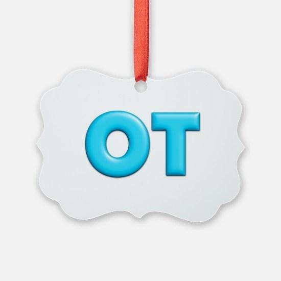 OT Teal Ornament