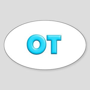 OT Teal Sticker