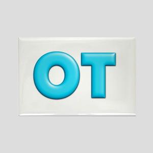 OT Teal Rectangle Magnet
