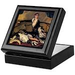Deco Lady Trinket Box