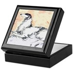 Borzoi Watercolor Keepsake Box