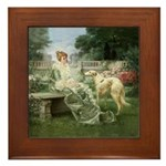 The Garden Framed Tile