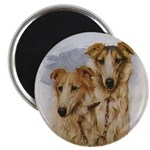 """""""Girl And Boy Zoi"""" 2.25"""" Magnet (10"""