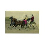 Carriage Ride Rectangle Magnet 10PK
