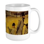 Large Borzoi In Town Mug