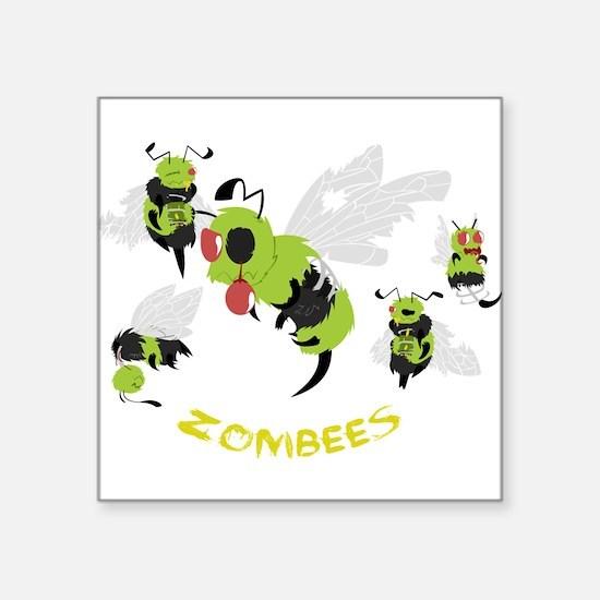 Zombees Sticker