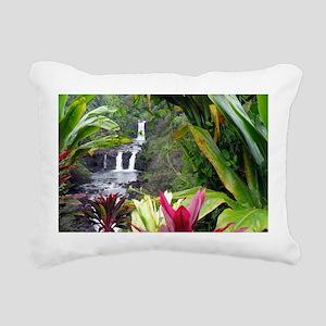 Umauma Falls Rectangular Canvas Pillow