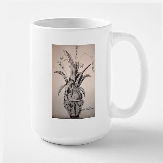 """Plant in Shadows"" Large Mug"