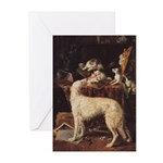 Borzoi & Cats Cards (10 PK)