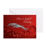 """Zoifull Holiday"" Christmas Cards (10 PK"