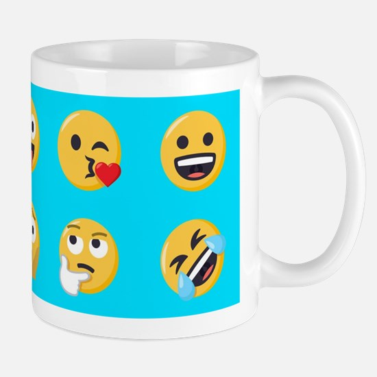 Emoji Smiley Mugs