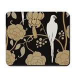 Art Deco Pigeon Mousepad