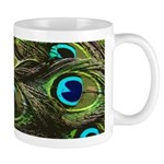 Art Deco Peacock Mug