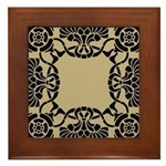 Art Deco Framed Tile