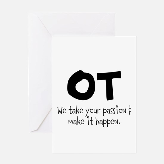 OT Your Passion Greeting Card