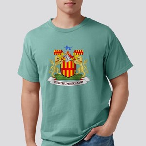 Coat of Arms of Northumb Mens Comfort Colors Shirt