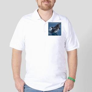 Jumping Dolphin Golf Shirt