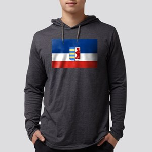 Flag of Carpathian Ruthenia Mens Hooded Shirt