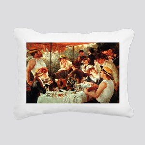 Boating Part Lunch Rectangular Canvas Pillow