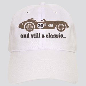 70th Birthday Classic Car Cap