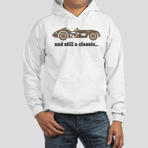 70th Birthday Classic Car Hooded Sweatshirt