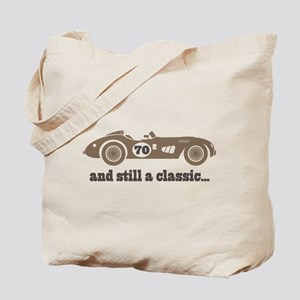 70th Birthday Classic Car Tote Bag