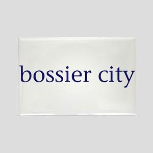 Bossier City Rectangle Magnet