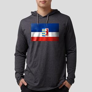 Flag of Carpathian Ruthenia - Ca Mens Hooded Shirt