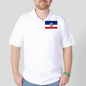 Flag of Carpathian Ruthenia - Carpatho- Golf Shirt