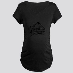 Adventure Awaits Maternity T-Shirt