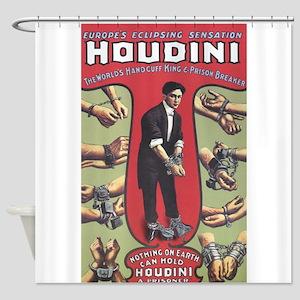 houdini design Shower Curtain