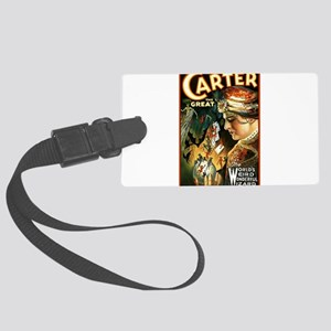 Carter the great Large Luggage Tag