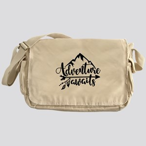 Adventure Awaits Messenger Bag