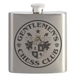 Gentlemen's Chess Club Flask