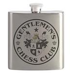 Gentlemen's Chess Club Flask
