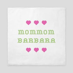 MomMom Barbara Queen Duvet