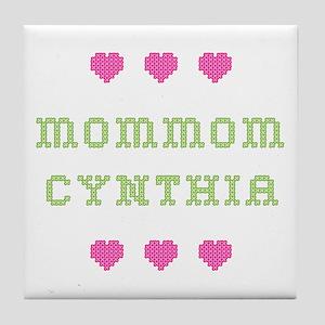 MomMom Cynthia Tile Coaster