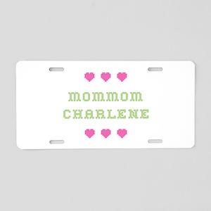 MomMom Charlene Aluminum License Plate