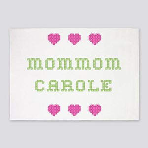 MomMom Carole 5'x7' Area Rug