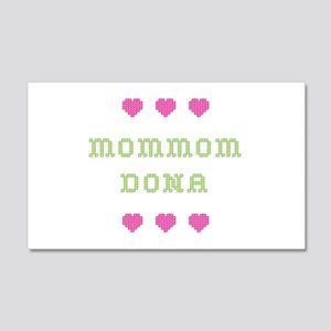 MomMom Dona 20x12 Wall Peel