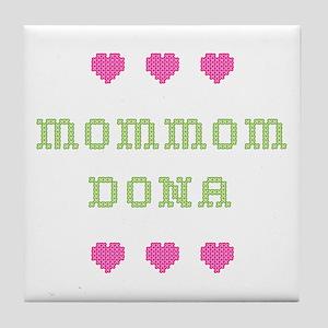 MomMom Dona Tile Coaster