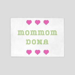 MomMom Dona 5'x7' Area Rug