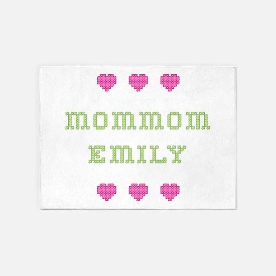 MomMom Emily 5'x7' Area Rug
