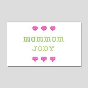 MomMom Jody 20x12 Wall Peel