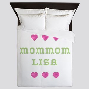 MomMom Lisa Queen Duvet