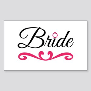 Bride Sticker