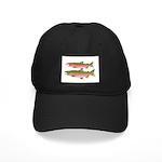 Pacific Coho Salmon fish couple Baseball Hat
