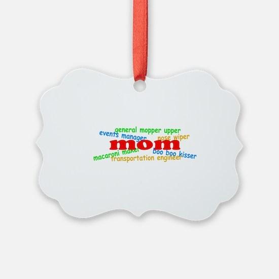 Supermom Ornament