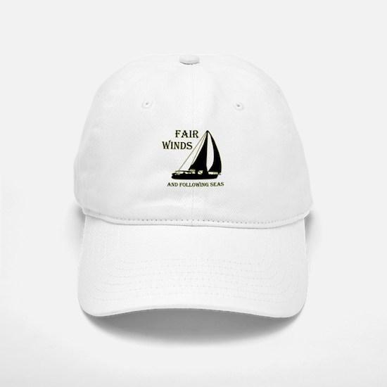 Fair Winds... Baseball Baseball Cap