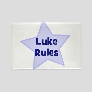 Luke Rules Rectangle Magnet